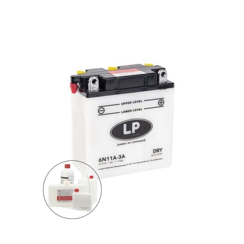 LP DRY+ACID 6N11A-3A 6V 11Ah