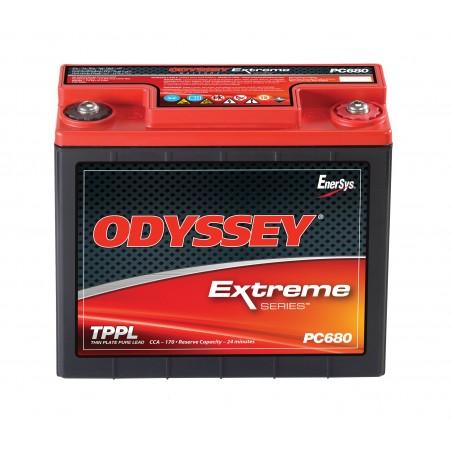Batterie Odyssey 680 12V 16AH L 184.7 x P79 x H169.4