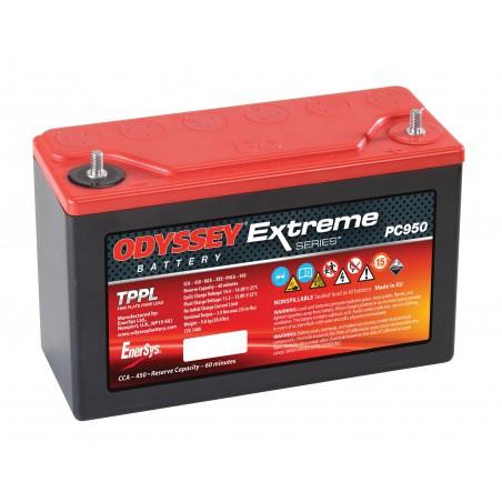 Batterie Odyssey 950 12v 32ah L 156 x P 97 x H250
