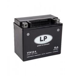 Batterie Moto YTX12-4 (SLA 12-10) 12 VOLT 10,0 AH