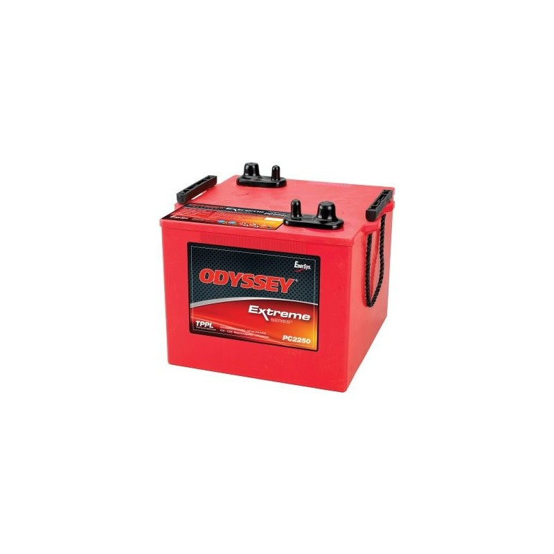 Batterie Odyssey PC2250 12V 114AH  L 233 x P 269 x H 286