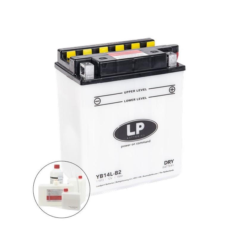 LP DRY+ACID YB14L-B2  12V 13Ah