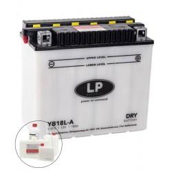 LP DRY+ACID YB18L-A  12V 18Ah
