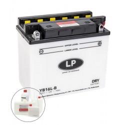 LP DRY+ACID YB16L-B  12V 19Ah