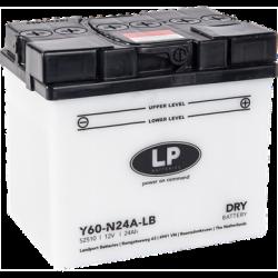 LP DRY+ACID Y60-N24A-LB  12V 24Ah