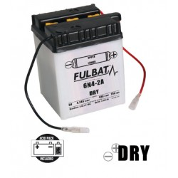 6N4-2A DRY batterie Moto