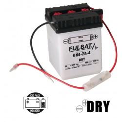 6N4-2A-4 DRY batterie Moto