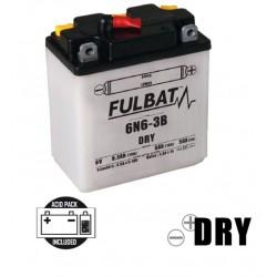 6N6-3B DRY batterie Moto