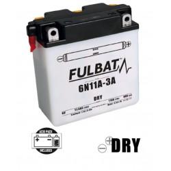 6N11A-3A DRY batterie Moto