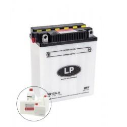 YB12A-A  12V 12,0Ah Batterie Moto