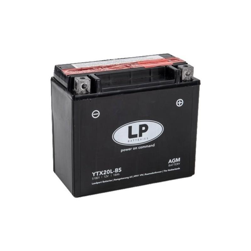 LP AGM YTX20L-BS 12V 18Ah